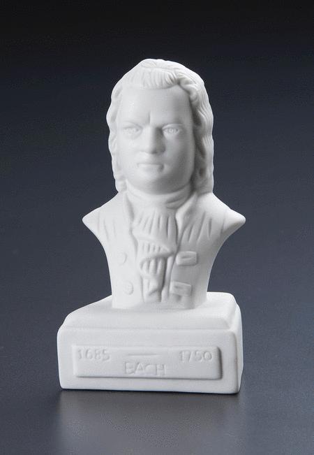 5-Inch Composer Statuette - Bach
