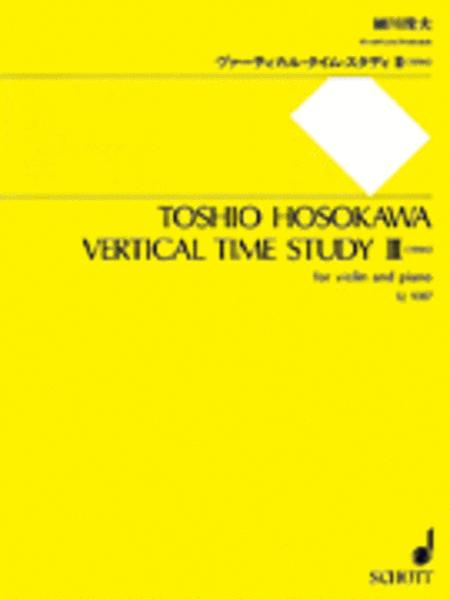 Vertical Time Study III (1994)