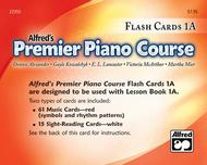 Alfred's Premier Piano Course: Flash Cards Level 1A