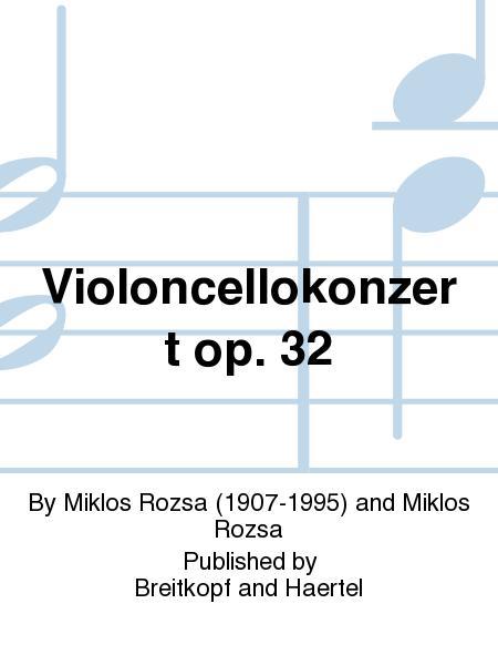 Violoncellokonzert op. 32