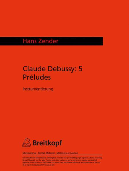 Debussy - 5 Preludes