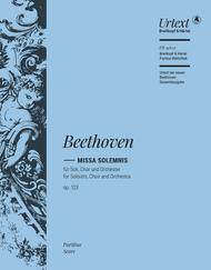 Missa Solemnis in D major Op. 123