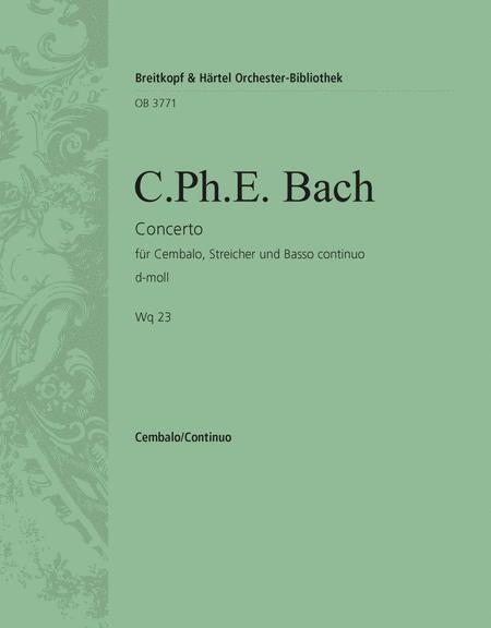 Harpsichord Concerto in D minor Wq 23