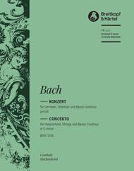 Cembalokonzert g-moll BWV 1058