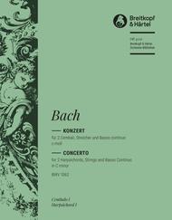 Harpsichord Concerto in C minor BWV 1062