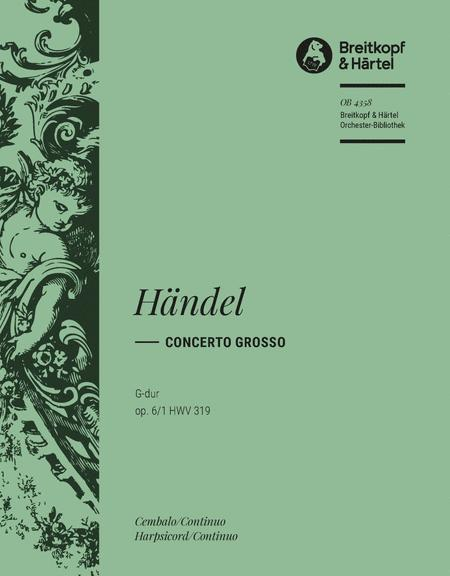 Concerto grosso (No. 12) in G major Op. 6/1 HWV 319
