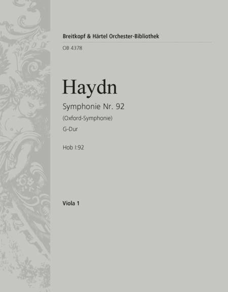 Symphony No. 92 in G major Hob I:92