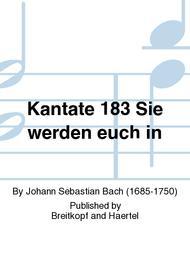 Cantata BWV 183 Sie werden euch in den Bann tun