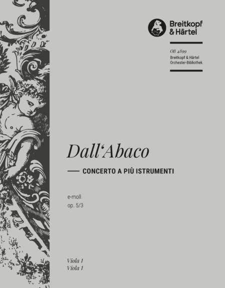 Concerto e-moll op. 5/3