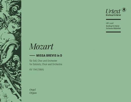 Missa brevis in D major K. 194 (186h)