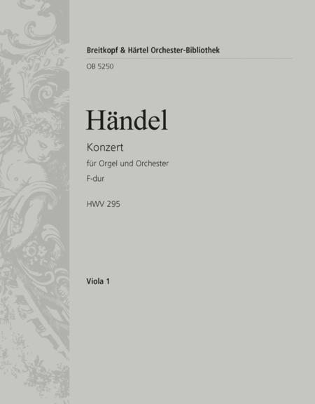 Organ Concerto (No. 13) in F major HWV 295