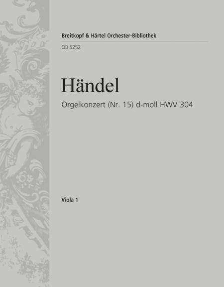 Organ Concerto (No. 15) in D minor HWV 304
