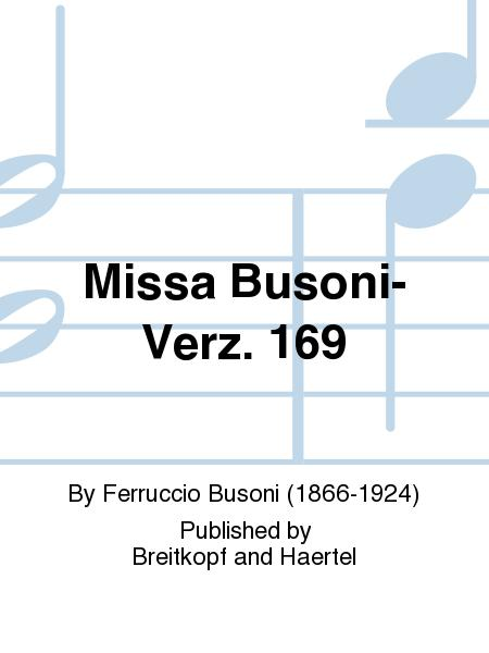 Missa Busoni-Verz. 169