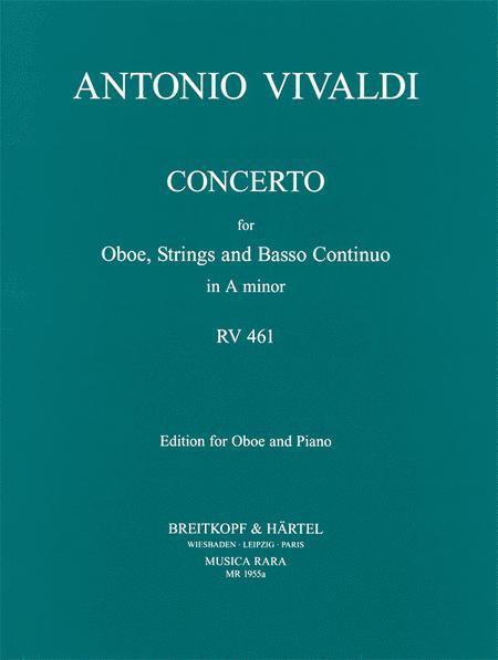 Concerto in A minor RV 461