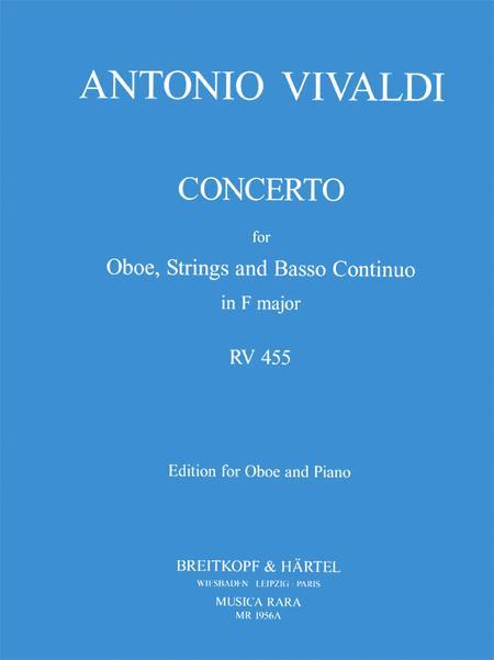Concerto in F major RV 455