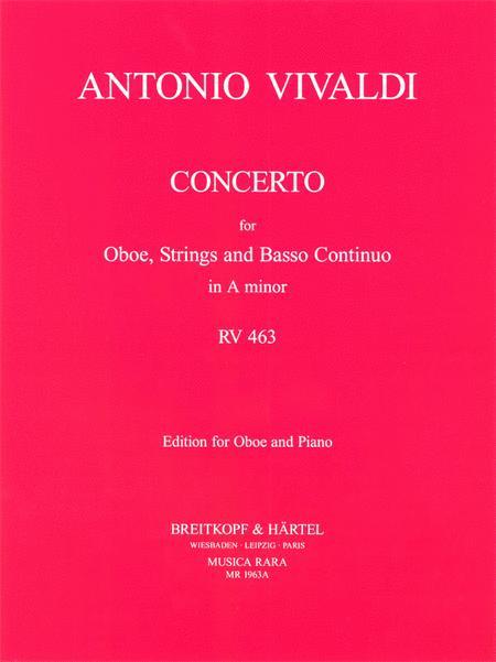 Concerto in A minor RV 463