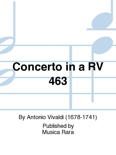 Concerto in A minor RV 463