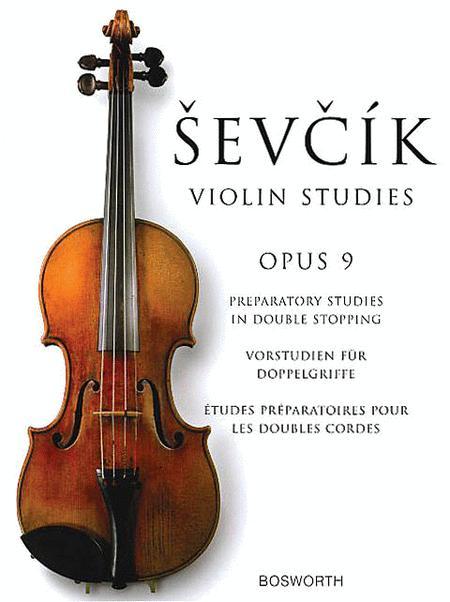 Sevcik Violin Studies - Opus 9