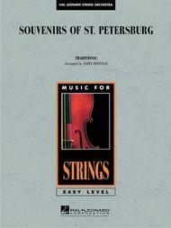 Souvenirs Of St  Petersburg Sheet Music By Jamin Hoffman