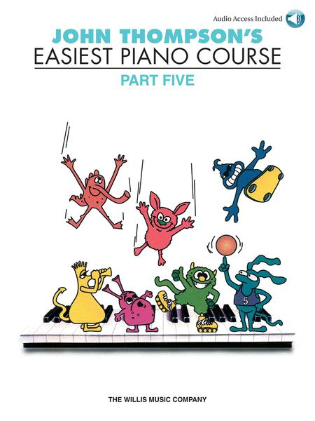 John Thompson's Easiest Piano Course - Part Five (Book/CD)
