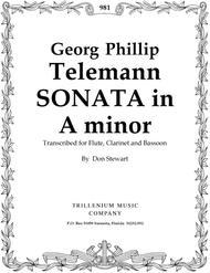 Trio-Sonata in A minor