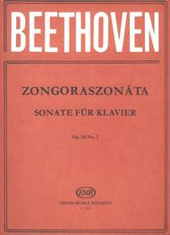 Sonatas for Piano in Separate Editions Op. 10, No. 2 in F Major