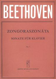 Sonatas for Piano in Separate Editions Op. 7 in E flat major