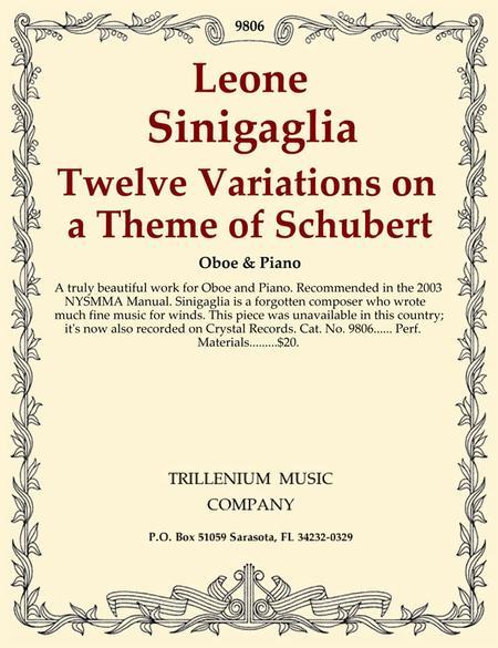 Twelve Variations on a Theme of Schubert