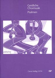 Geistliche Chormusik: Psalmen