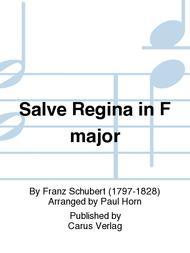 Salve Regina in F major