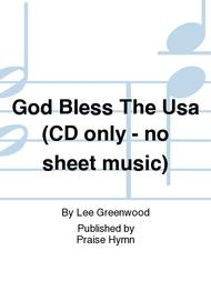 God Bless The Usa (CD only - no sheet music)