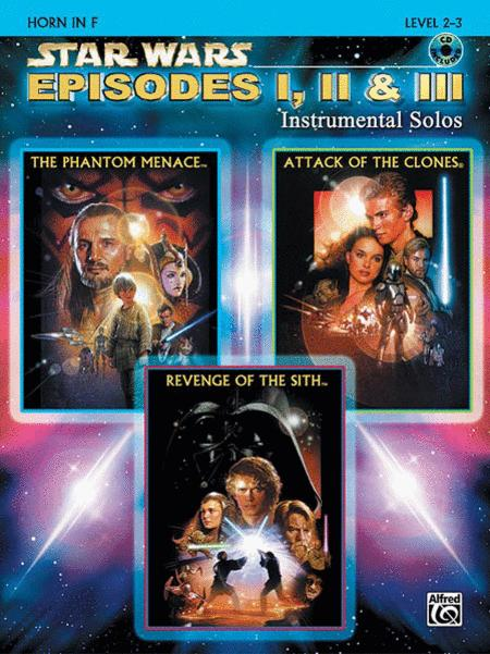 Star Wars - Episodes I, II & III (Horn in F)