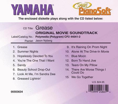 Grease - Original Movie Soundtrack - Piano Software