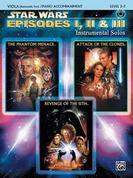 Star Wars - Episodes I, II & III (Viola/Piano)