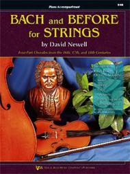 Bach and Before for Strings - Piano