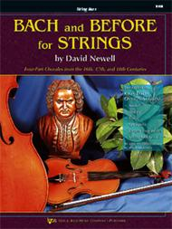 Bach and Before for Strings - String Bass
