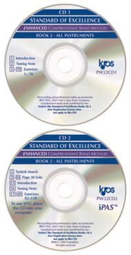 pw22ek standard of excellence book 2 enhancer kit 2 cds for all instruments