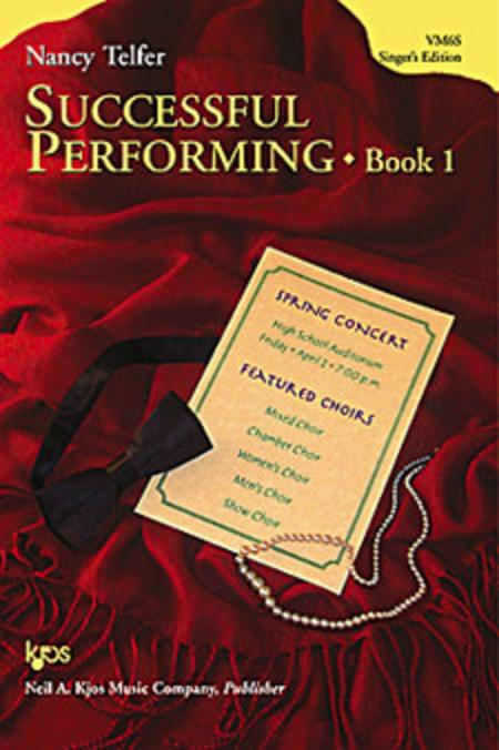 Successful Performing, Book 1 - Singer's Edition