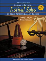 Standard of Excellence: Festival Solos Book 2 - Bass Clarinet