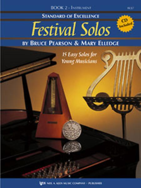 Standard of Excellence: Festival Solos Book 2 - Baritone Saxophone