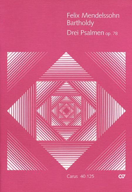 Three Psalms, Op. 78 (Drei Psalmen op. 78)