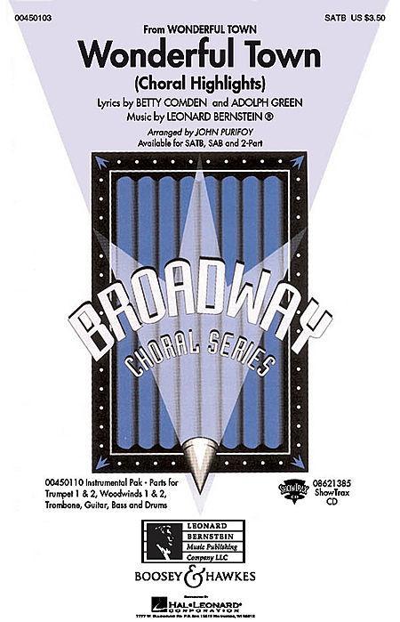 Wonderful Town (Choral Highlights) - ShowTrax CD