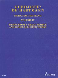 Music for the Piano - Volume IV