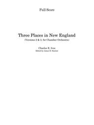 Three Places in New England