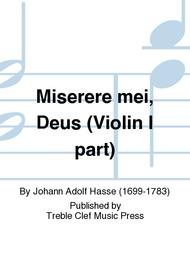 Miserere mei, Deus (Violin I part)