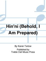 Hin'ni (Behold, I Am Prepared)