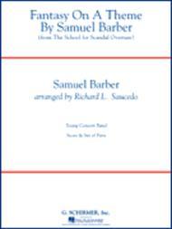 Fantasy On A Theme By Samuel Barber (full Score)