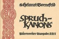 Bornefeld: Spruchkanons zu zwei bis acht Stimmen