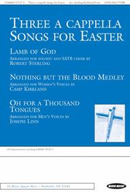 Three A Cappella Songs For Easter Sheet Music - Sheet Music Plus