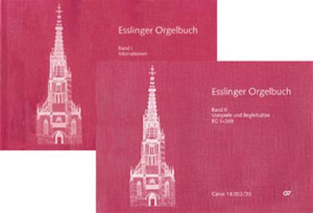 Esslinger Orgelbuch, Bd I-III